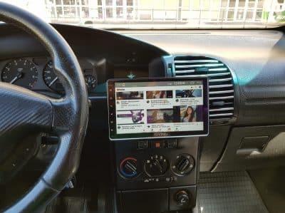 L'autoradio avec écran rétractable