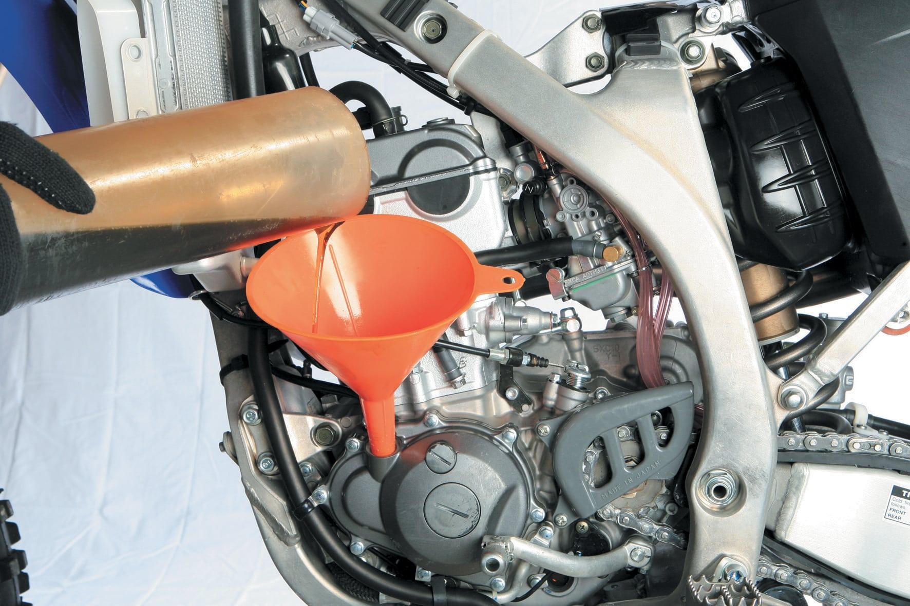 La vidange et le remplacement du filtre à huile